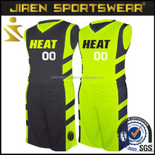 Sublimation Reversible green basketball jersey design Best Latest Basketball Jersey and shorts Design