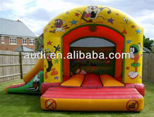 Inflatable Looney Tunes Bounce and Slide Combo