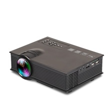 UNIC UC40+ LED Projector HDMI 800lms 3D Mini Pico Portable Projector For Home Theater