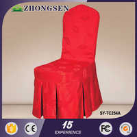 China Manufacturer Brand Name wine red chair cover sashes