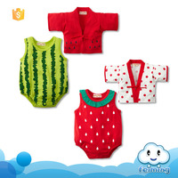 Wholesale arabic girl names image african clothes infant clothing fruits fancy cute design summer romper