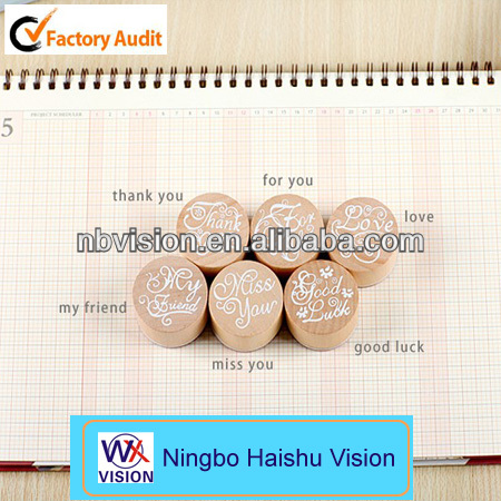 Stationery Product Hot Selling Hot Stamping Stamp Pad Clear Stamp