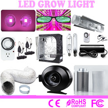 Indoor hydroponics system cannibis 600 watts hps DIY cob led grow tent complete kit with led light