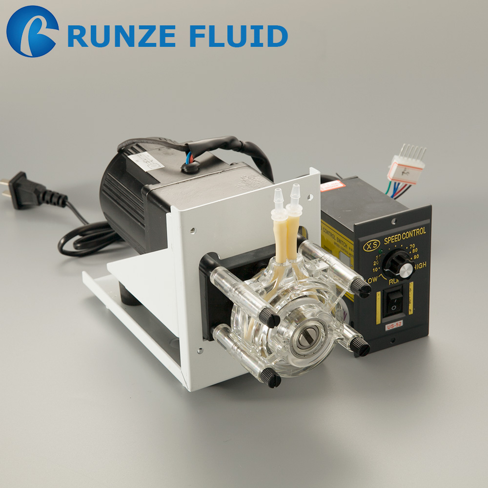 High flow rate dosing peristaltic pump for milk vending machine