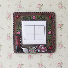 Shabby Chic Crafts Resin Decorative Switch Sticker Frames