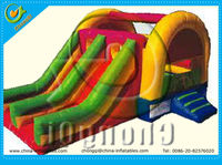 2015 nice commercial grade inflatable water slides