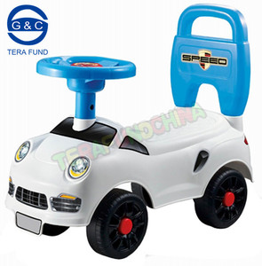 baby walking car/baby twister with music steering wheel