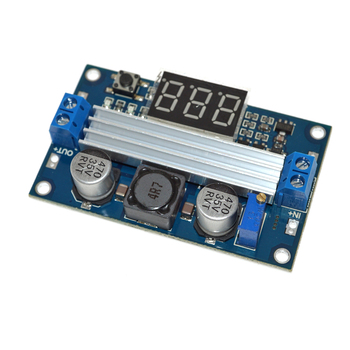 LTC1871 3.5V-35V 100W DC-DC Step up Power Supply Boost Module LED Voltmeter