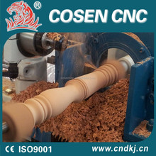 cnc315s cosen cnc woodworking lathe automatic wood turning machine