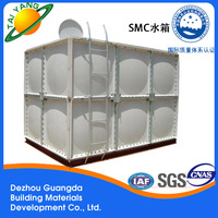Look,the hot-sale SMC GRP building water tank is coming