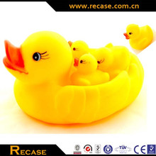 PVC Baby Weighted Floating Rubber Bath Duck Soft Toy