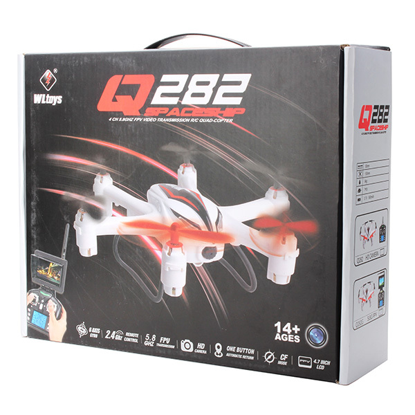 WLtoys Q282G 5.8G FPV With 2.0MP Camera 6-Axis RC Hexacopter RTF