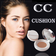 Korea <strong>Cosmetic</strong> CC Cushion Makeup Base Whitening The Best Cushion BB Cream For Oily Skin Foundation