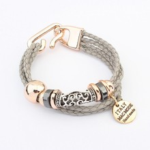 103940 arabic 2011 fashion jewelry meaning braided rope bracelets