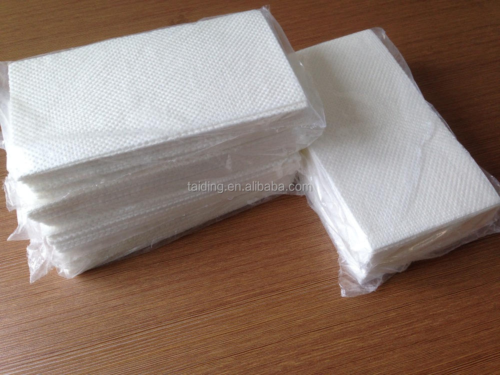 Medical use absorbent paper pads with SAP inside