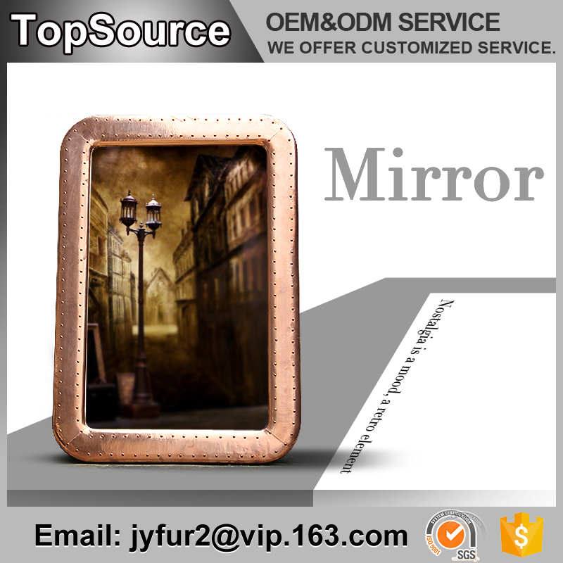 Wholesale Decor Furniture Fiberglass Vintage Mirror Wall Mirror