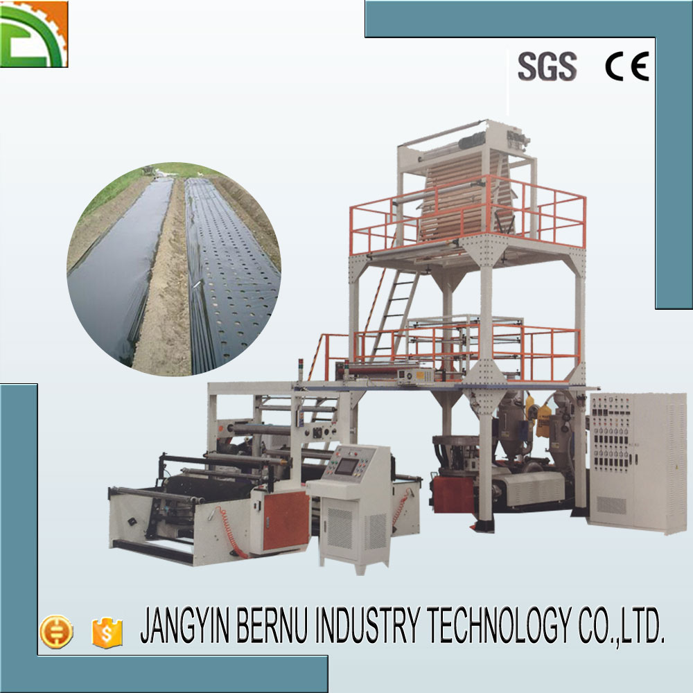 agricultural plastic polythene film blowing machine