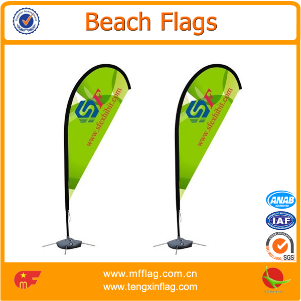 Outdoor advertising sail banners roadside hanging flags banner