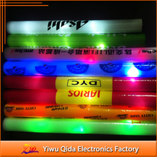 Promotional Logo Printed Custom LED Foam Glow Sticks