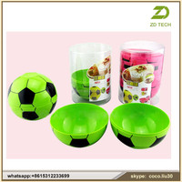 Melamine Plastic Type Disposable Football Shape Salad Bowl ZDS1989