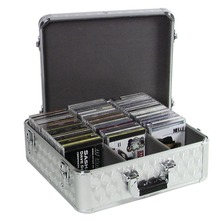 1000 cd dvd aluminum storage case