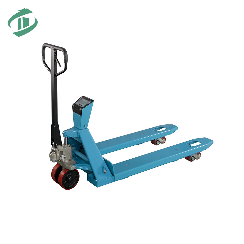 2000kg to 5000kg hs code hydraulic pump safety hand pallet truck with scale