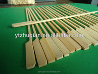 10cm 20cm 30cm BBQ customize logo flat paddle gun shape bamboo skewers with handle