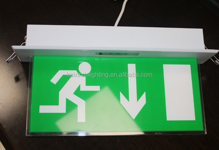 4w LED Rechargeable Fire Emergency Exit Sign