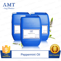 Natural Peppermint essential oil Factory price for OEM/ODM Private label Clear the throat Down fever Relieve itching