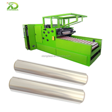 Automatic aluminum foil wrap rewinder wrapping Sealing machine