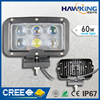 60W bright 24V spot auto LED work light IP67