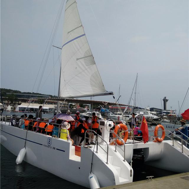New modern catamaran sailing boat, Catamaran sailboat for sales