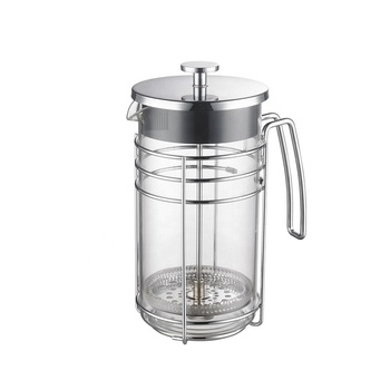 High borosilicate glass french press coffeeware