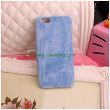 wholesale soft touch plush hard cover phone case for iphone 7 7 plus