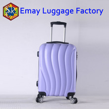Customize your own 363 wheel abs aluminum trolley luggage