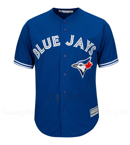 New Style Blue Jays Embroidery Baseball Jersey