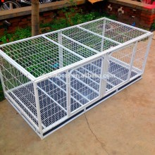 Best selling quality outdoor metal color portable large steel dog cage