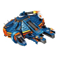 Mini Figure 1566 PCS Trek Ausini Plastic Space Wars Toys Set Spaceship Building Blocks Spacecraft For Kid