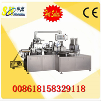 SH-300D packing machine type chocolate blister packing machine with plastic blister and film