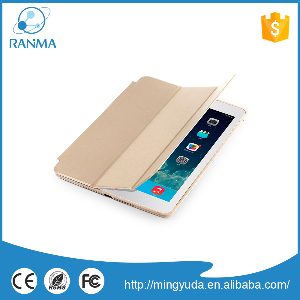 Free sample new design flip cover luxury leather case for ipad air