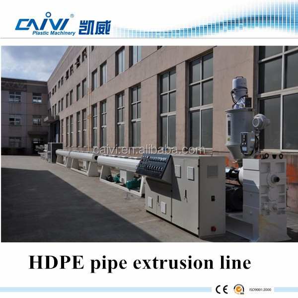 HDPE PE Water Feed Pipe Extrusion Machine Line