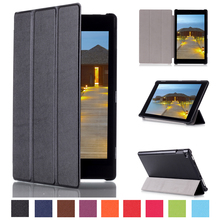 Popular 2015 Hot Sell Tablet Accessories KST Pattern Solid PU Leather Flip Cover for Amazon Kindle Fire HD 8.9 inch 2015