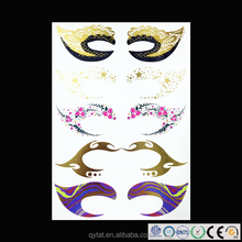 Party Eye Decoration Tattoo Sticker / Temporary Tattoo / Flash Tattoo