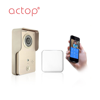 Hot Selling WiFi Video Intercom Door Phone system with smart phone app