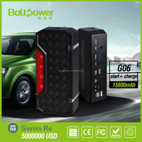 2015 New Product Mighty Car Jump Starter, Auto Power Bank 13600mah, Emergency Kit for PC/Mobile