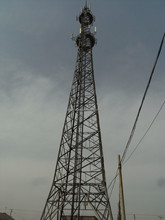 Electric Transmission Line Steel Power Tower