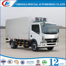 FOTON Chasis small volume mini refrigerator van truck for sale