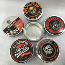 Professional hair styling products free style strong holding wax make hair shining pomade