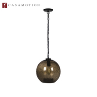 Industrial Iron Glass Globe Ceiling Kitchen