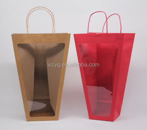 clear plastic bag with cotton rope design your own plastic bag